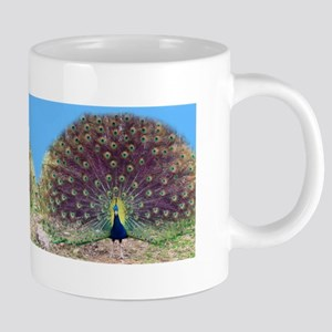 Pretty Peacock Mug Mugs
